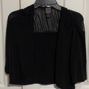 Black 3/4 Cardigan